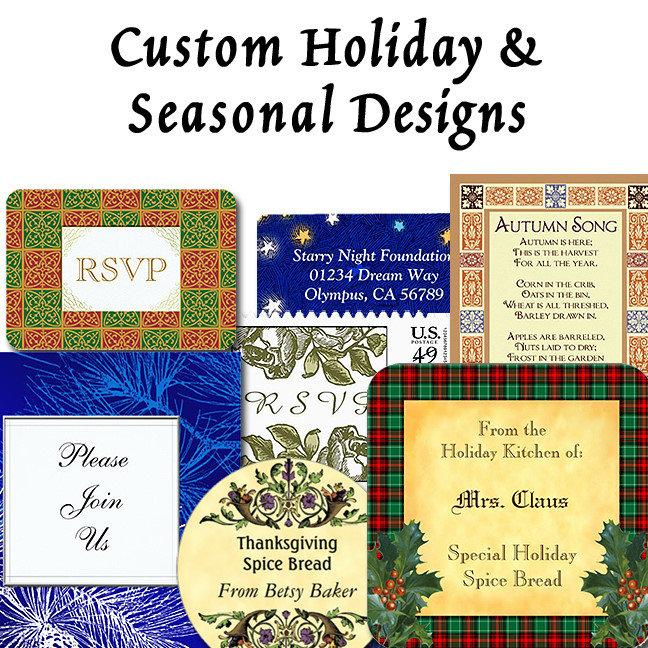 Custom Holiday and Seasonal Designs