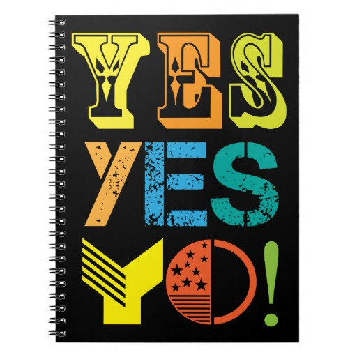 funky quotes notebooks