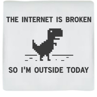 Internet Is Broke So I'm Outside Today