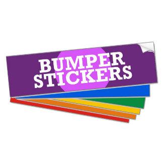 ► POPULAR BUMPER STICKERS