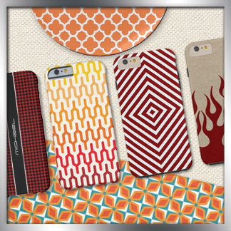 Red and Orange Patterns
