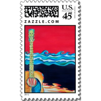 Tropical Postage Stamps