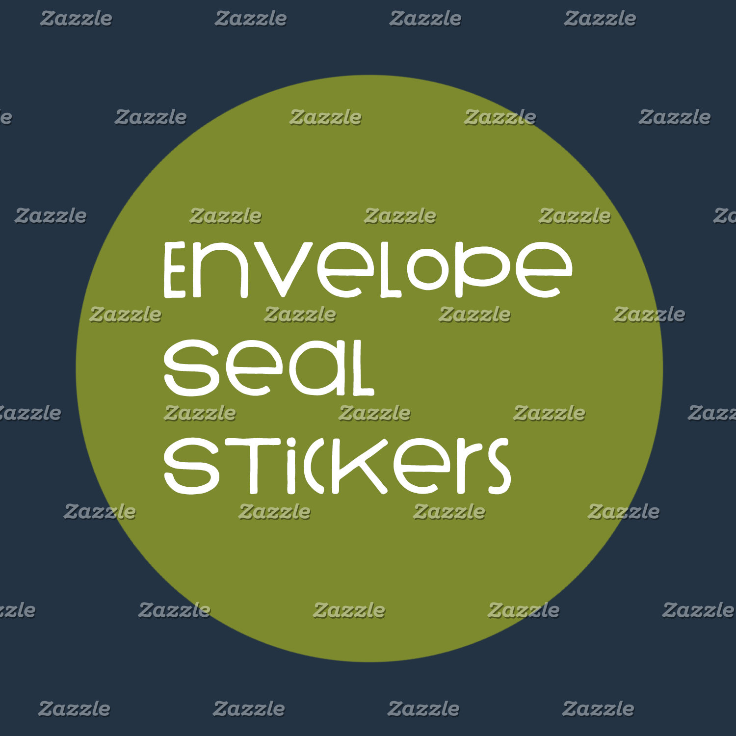 Envelope Seal Stickers