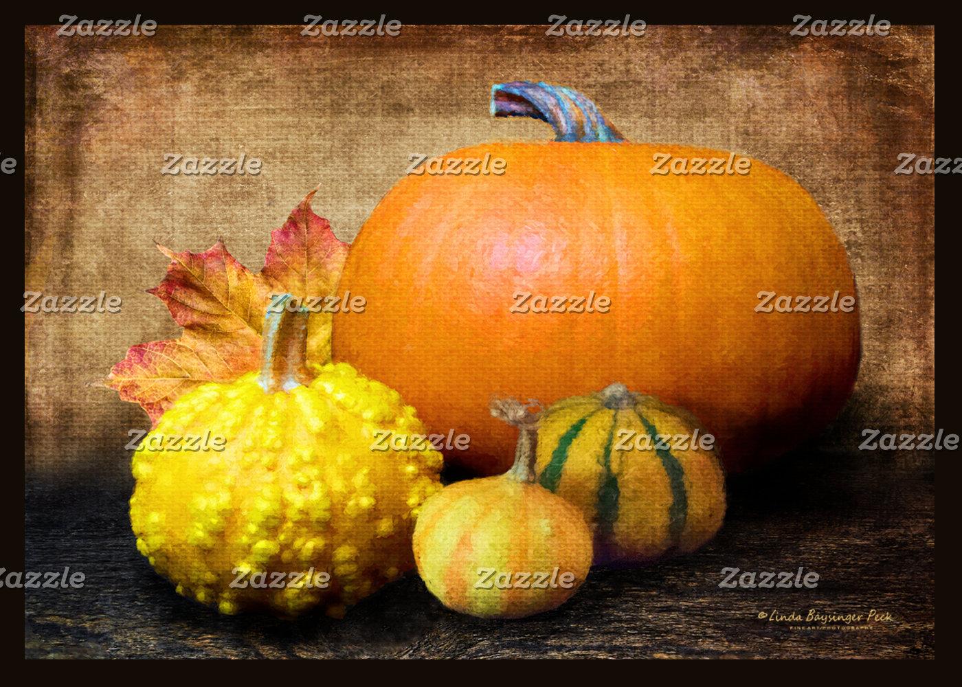 Pumpkin Gourds Still Life