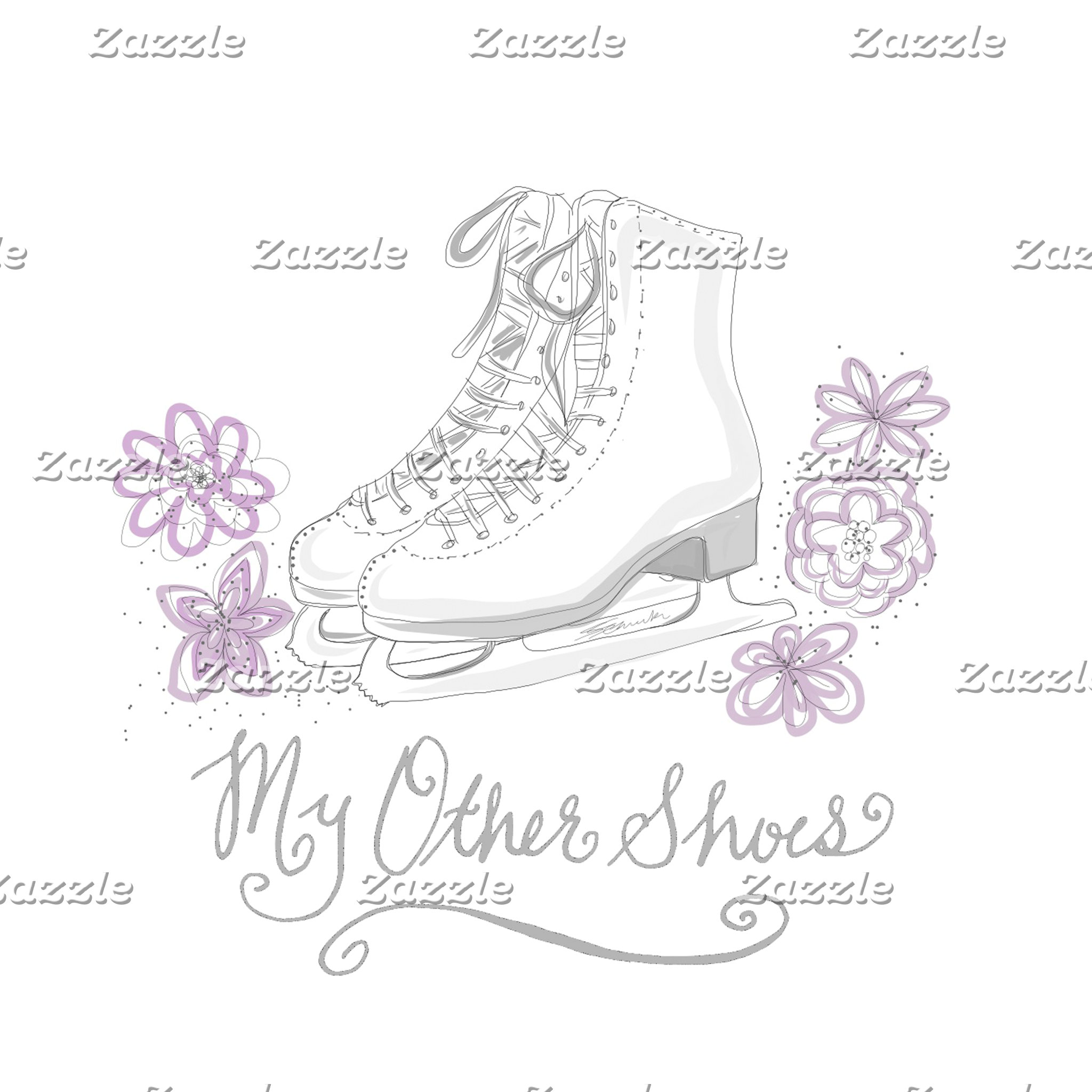 (E) My Other Shoes Figure Skate Products