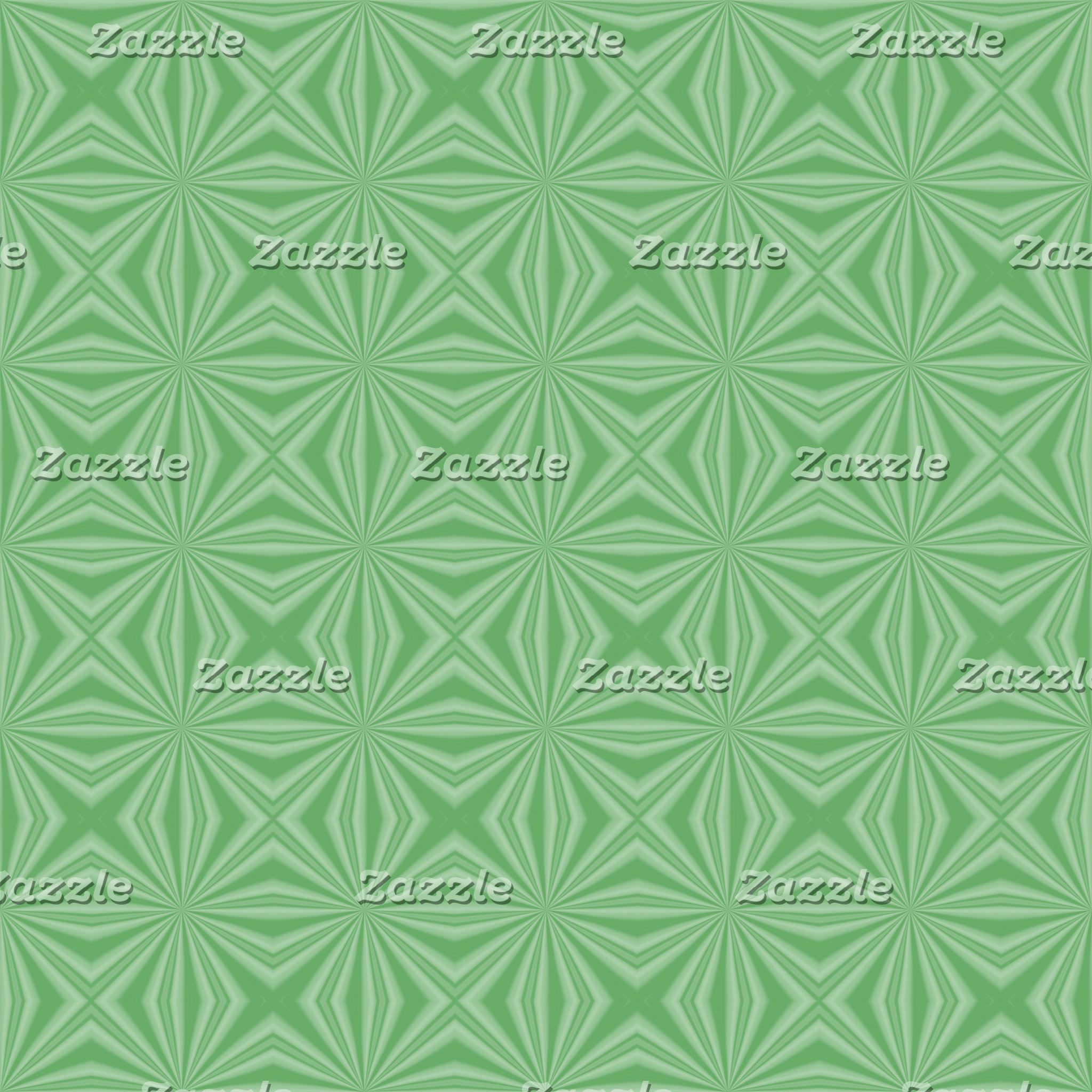 Apple Green Squiggly Squares