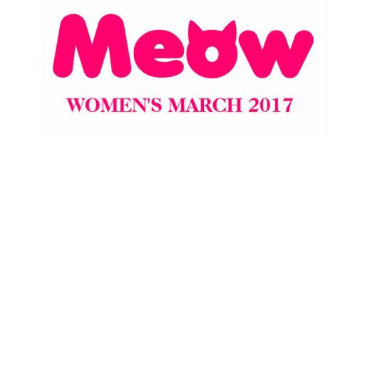 Pink Cat Ears Women's March 2017