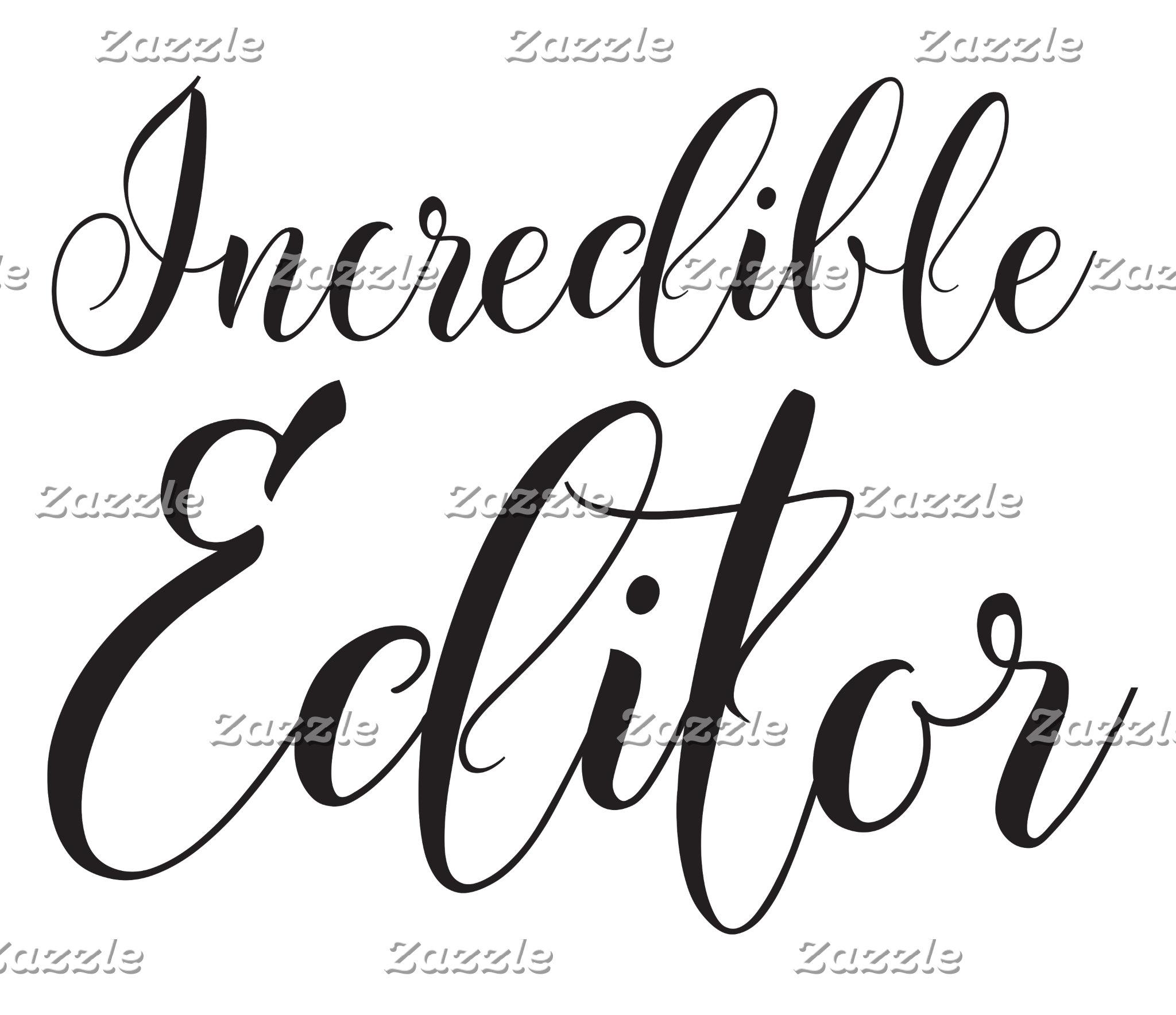 incredible editor