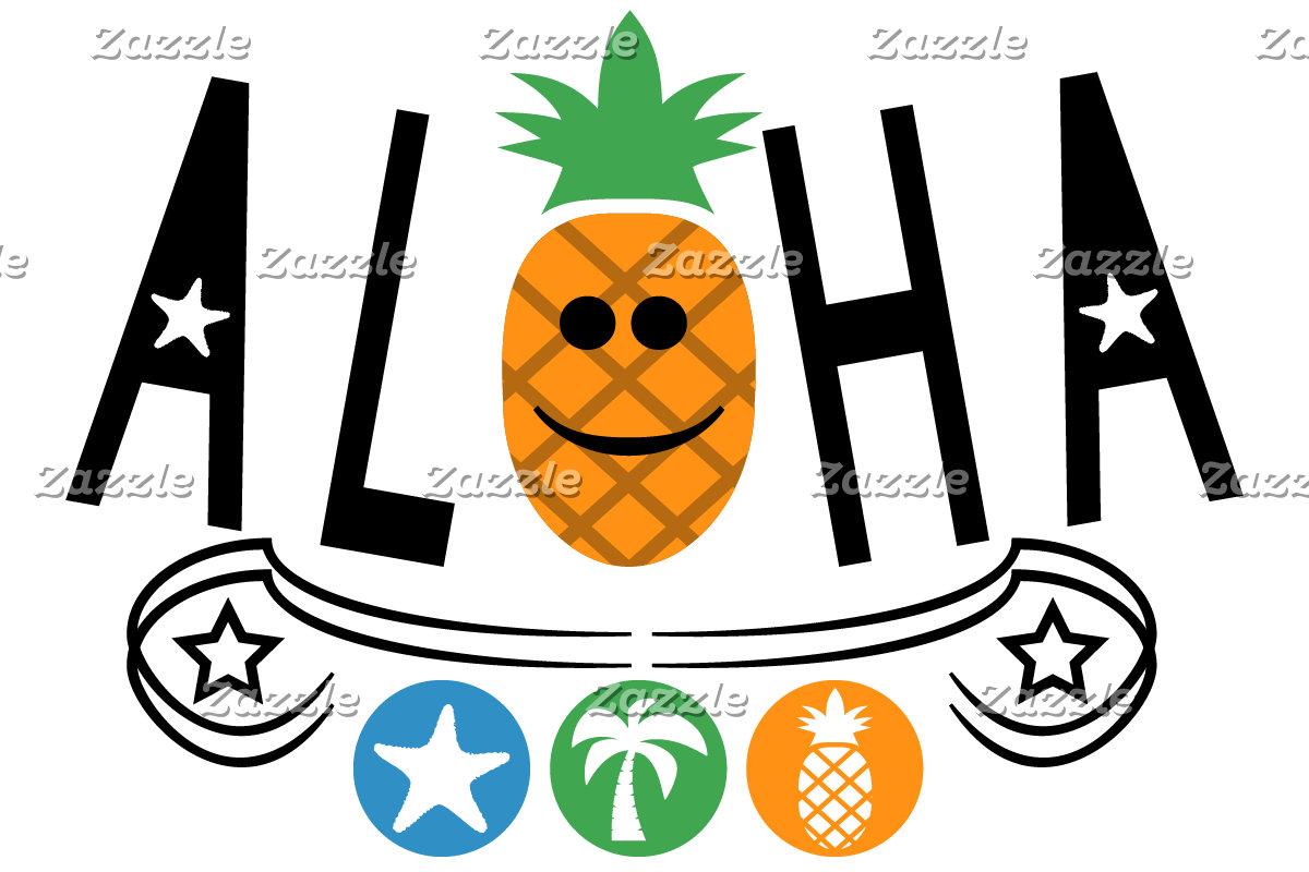 Aloha Pineapple Design