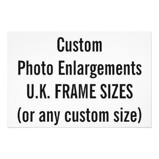 U.K. Frame Sizes (cm)