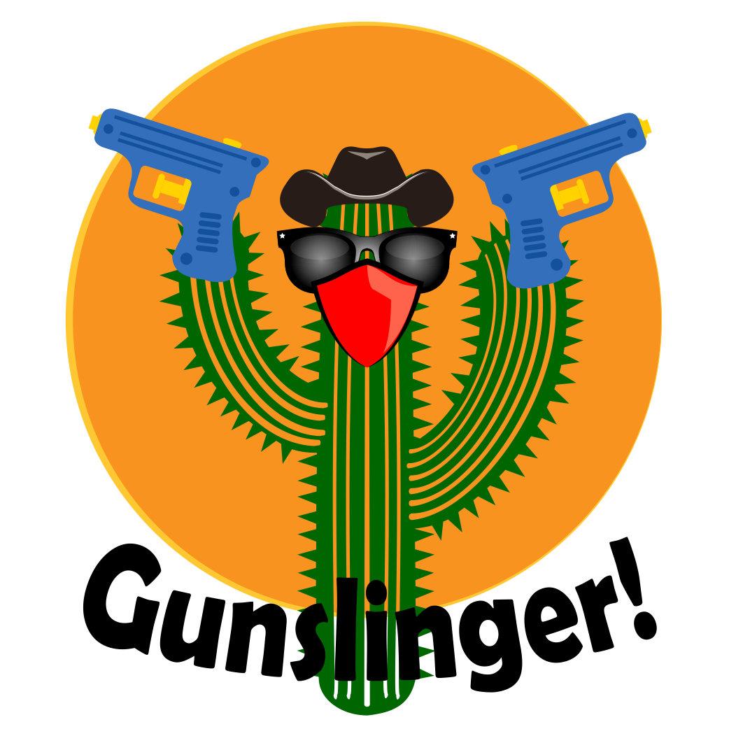 Gunslinger Cactus Design