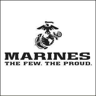 The Few The Proud Logos