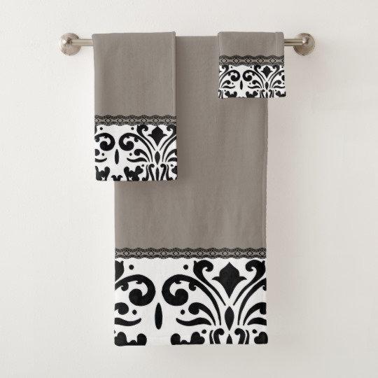 TOWEL BATHROOM SET