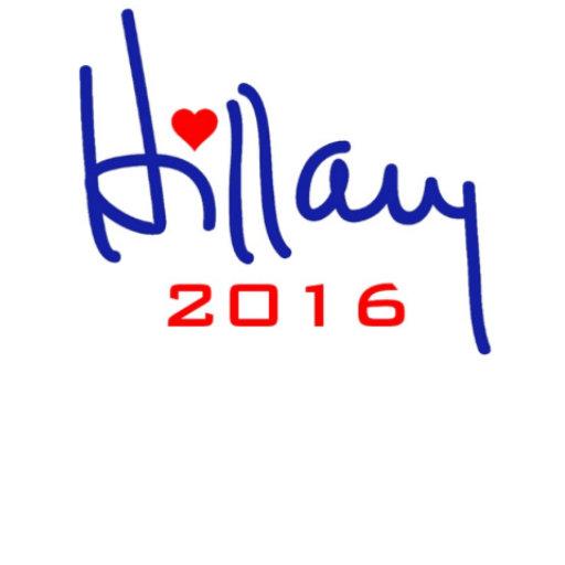 Hillary Signature Heart 2016