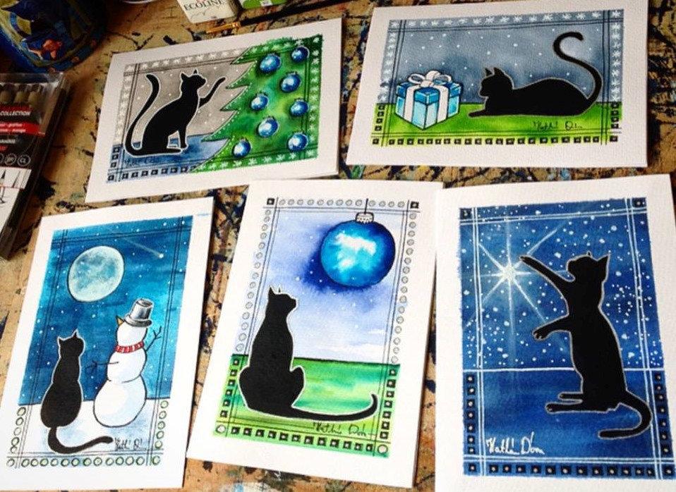 Black Cat Cards