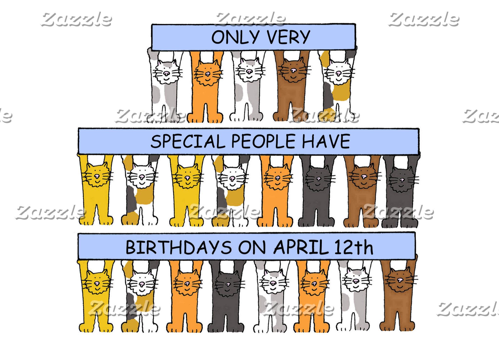 April Birthdays.