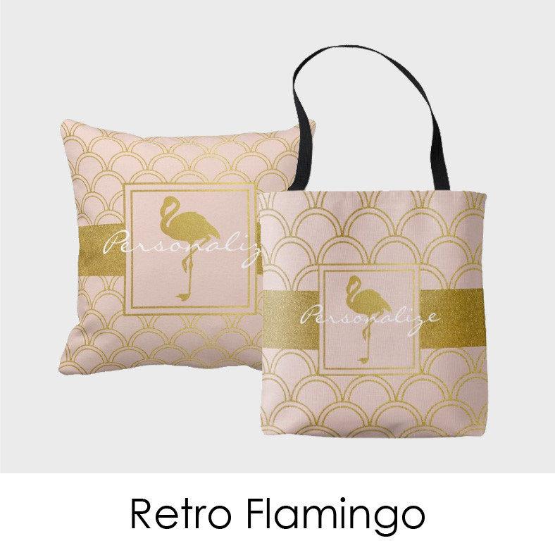 Retro Flamingo