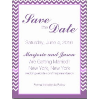Wedding Save the Date Postcards