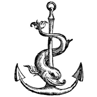 Anchor and Dolphin