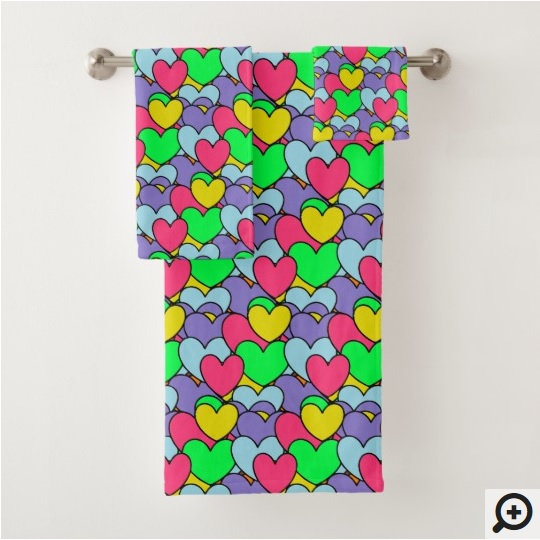 Cute Bath Towel Sets (and Beach Towels)
