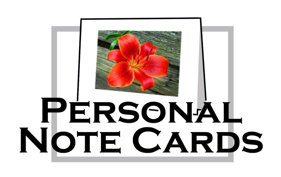 PERSONAL NOTE CARDS