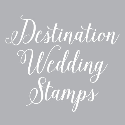 Destination Wedding Stamps