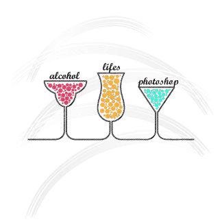 Alcohol Lifes Photoshop