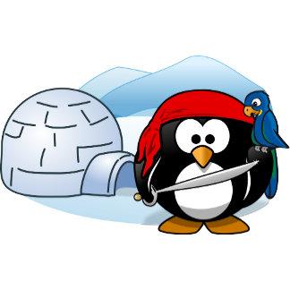 Antarctic Pitate Penguin