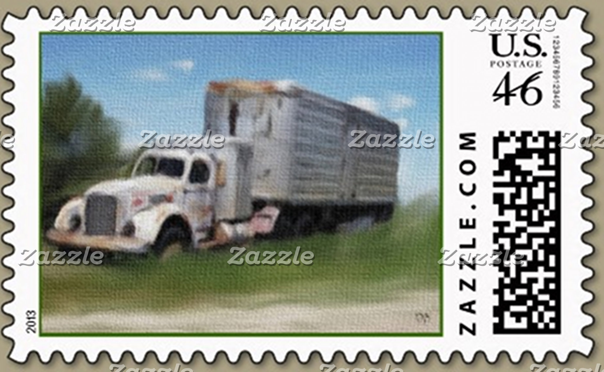 Vehicle Postage