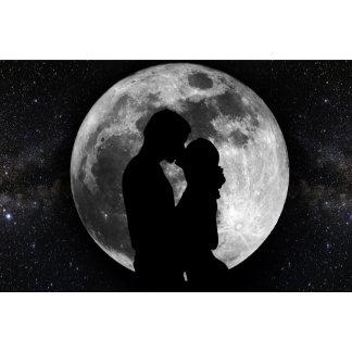 Lovers Moon Silhouette