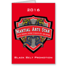Black Belt Invitations