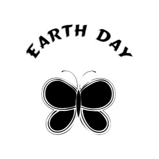 Earth Day Butterfly