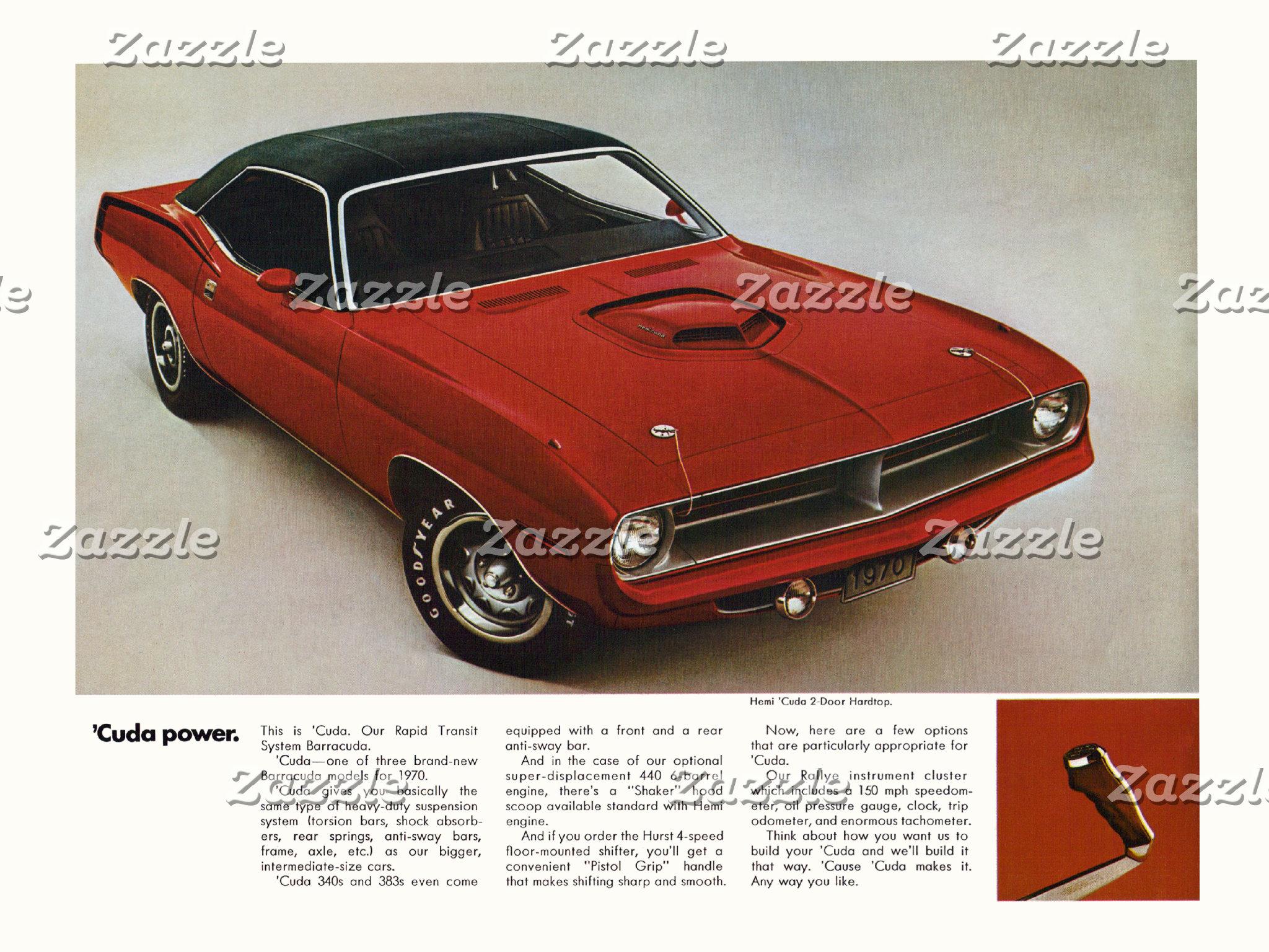 Vintage Muscle Car Ads