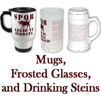 Mugs, Drinking Steins, Frosted Glasses
