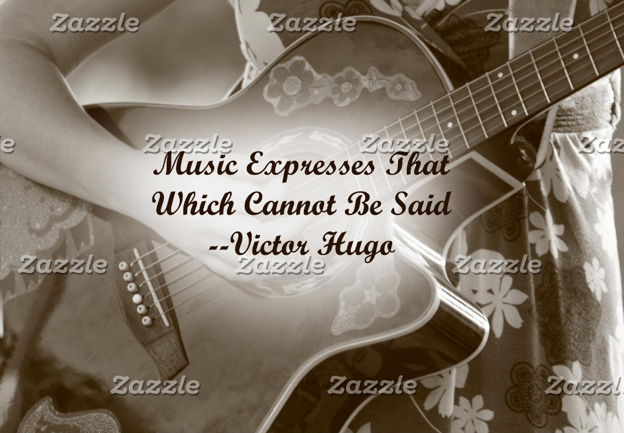 Music Expresses that guitar saying