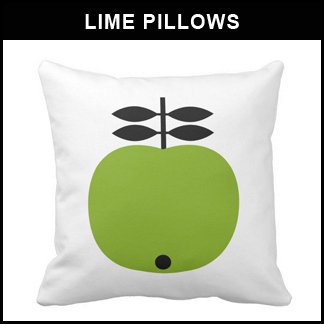 Lime Green Pillows