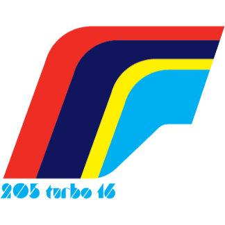 Peugeot 205 Turbo Rally symbol