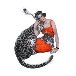 Lady and Leopard