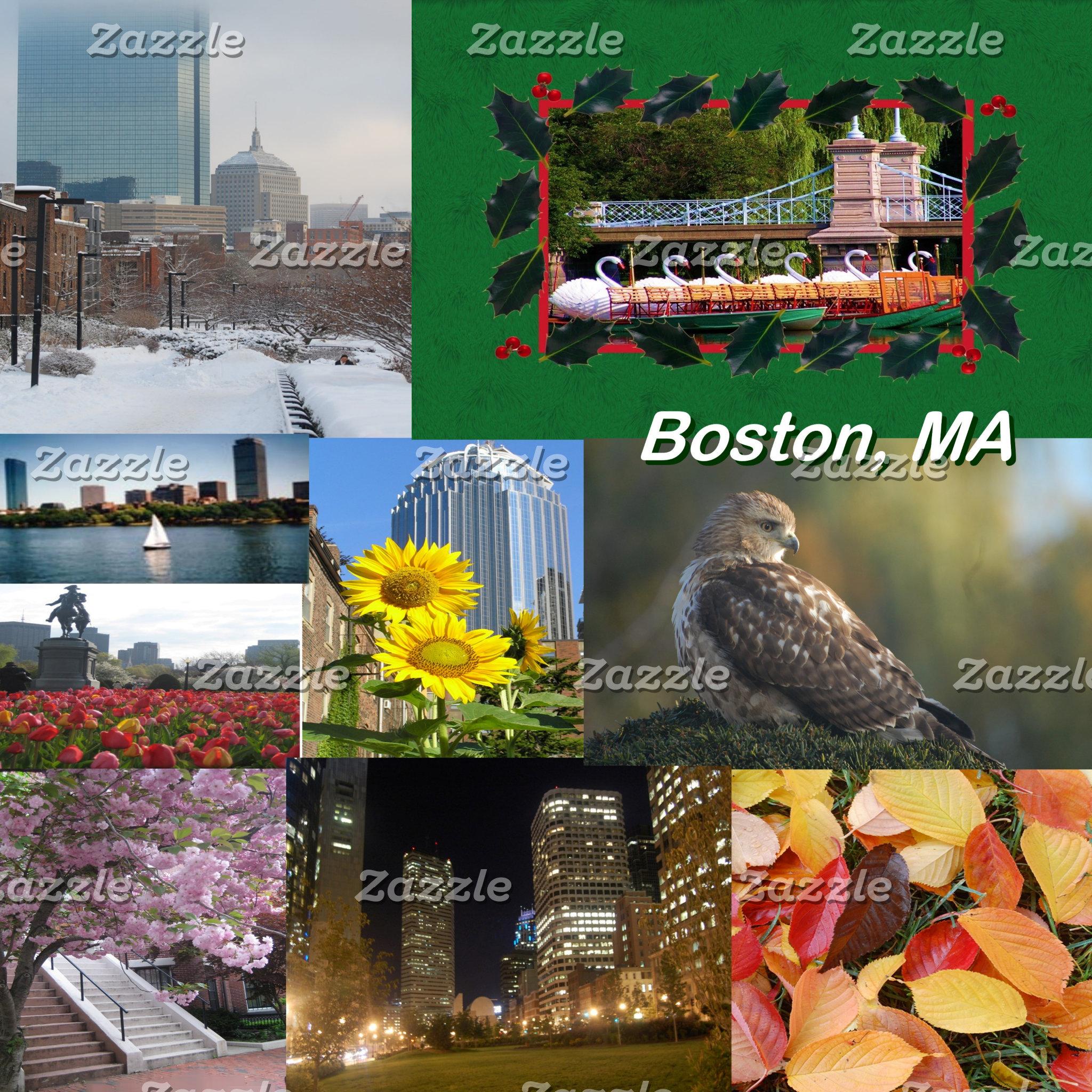 Boston, MA Photo Collage