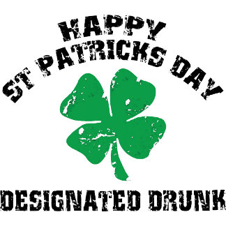 Irish Designated Drunk T-Shirts