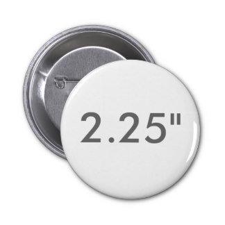 "2.25"" ZAZZLE Badges STANDARD"
