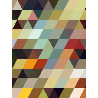 Geometric Patterns   Multicolored Triangles