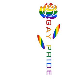 Gay Pride Flag Rose