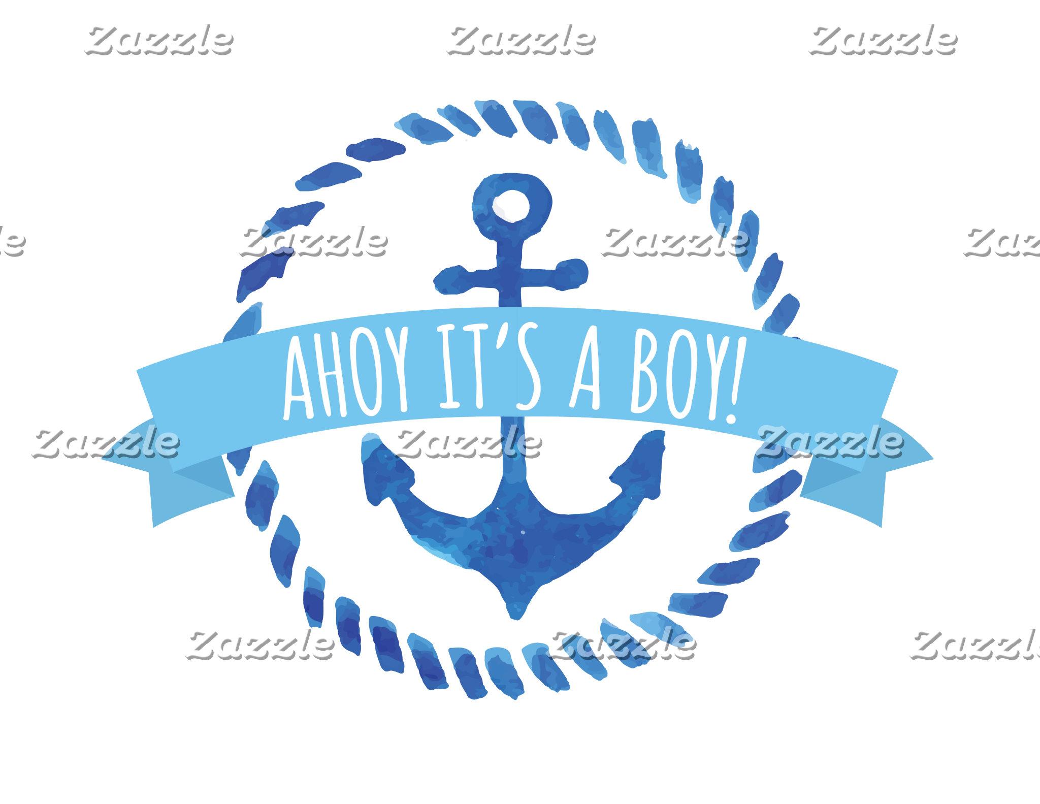 Ahoy It's A Boy