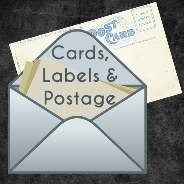 Cards, Invites, Labels & Postage