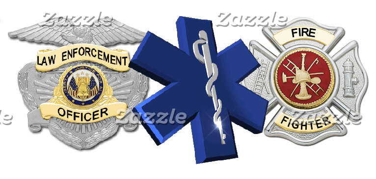 Law Enforcement, Security, Fire, EMS