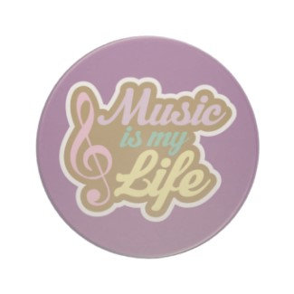 Music Drink Coasters
