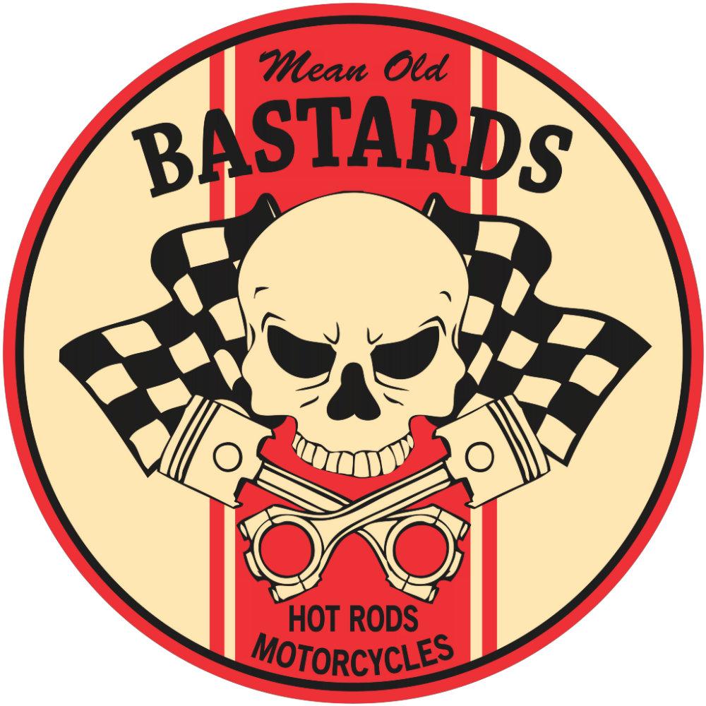 Mean Old Bastards Skull