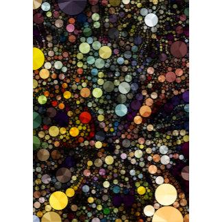 Geometric Patterns   Multicolor Circles I