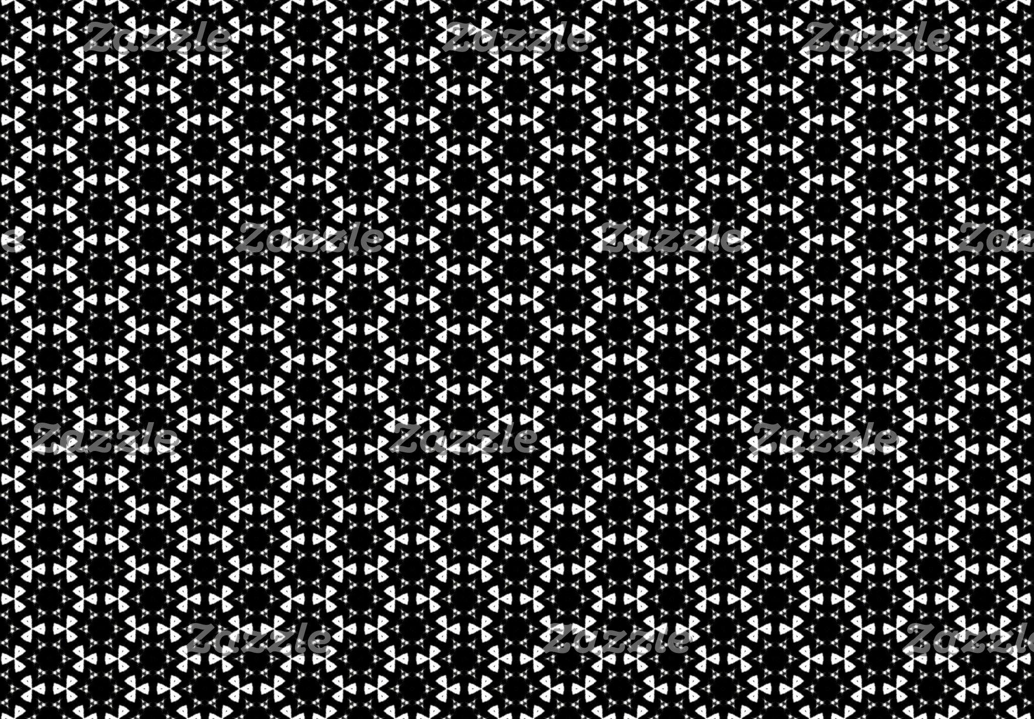 Black & White Patterns | Hexagons I
